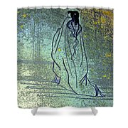 Cleopatra's Ghost Shower Curtain