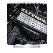 Clermont Hotel Shower Curtain