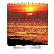 Clevedon Sunset Shower Curtain