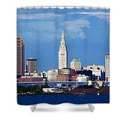 Cleveland Beauty Shower Curtain