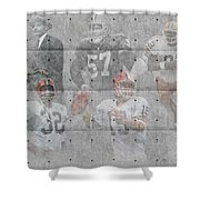 Cleveland Browns Legends Shower Curtain