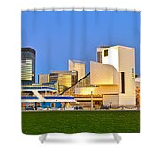 Cleveland Icons Shower Curtain
