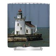 Cleveland Lighthouse Shower Curtain