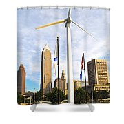 Cleveland Ohio Science Center Shower Curtain