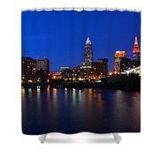 Cleveland Panorama Shower Curtain