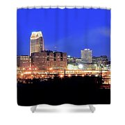 Cleveland Panoramic      Shower Curtain