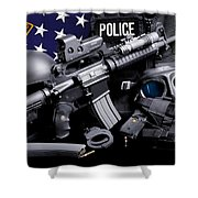 Cleveland Police Shower Curtain