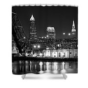 Cleveland Shining Bright Shower Curtain
