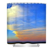 Click #5 From A Rest Stop On The Chesapeake Bay Bridge Tunnel Shower Curtain