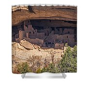Cliff Dwelling Shower Curtain