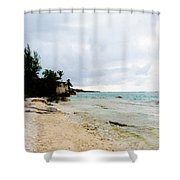 Cliff House 2 Shower Curtain
