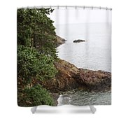 Cliff Shower Curtain