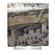 Cliff Palace Overview Shower Curtain