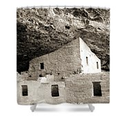 Cliff Palace Room Shower Curtain