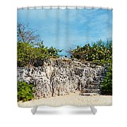Cliff Stairs 2 Shower Curtain
