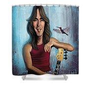 Cliff Williams Shower Curtain