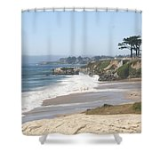 Santa Cruz Cliffline  Shower Curtain