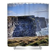 Cliffs Of Moher - Late Afternoon Shower Curtain
