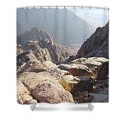 Cliffs Of Mount Sinai Shower Curtain