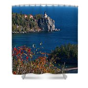 Cliffside Scenic Vista Shower Curtain