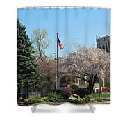 Cliftondale Square Shower Curtain