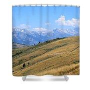 Climb Every Mountain Shower Curtain