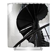 Climb Up To The Sky Shower Curtain