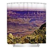 Climbing In Grand Canyon Shower Curtain