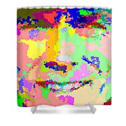 Clint Eastwood Abstract 01 Shower Curtain