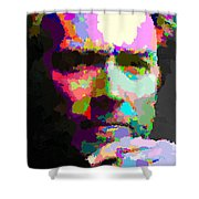 Clint Eastwood - Abstract Shower Curtain
