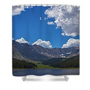 Clinton Gulch Summer Shower Curtain