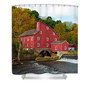Clinton Mill II  Shower Curtain