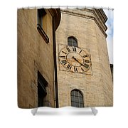 Clock Front Shower Curtain