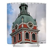 Clock Tower Shower Curtain