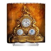 Clockmaker - Anyone Have The Time Shower Curtain