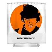 Clockwork Orange Poster 1 Shower Curtain