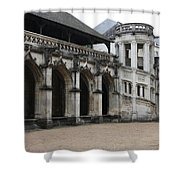 Cloister And Staircase Cathedral Tours Shower Curtain