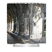Cloister Arches  Arles Shower Curtain