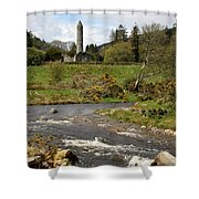 Cloister Glendalough Shower Curtain