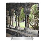 Cloister Saint Trophimus Shower Curtain
