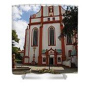 Cloister - St. Marienstern Shower Curtain