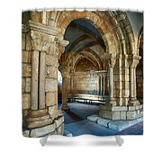 Cloisters Arch Shower Curtain
