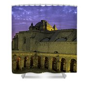 Cloisters At Sunset Arequipa Peru Shower Curtain