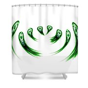 Clones Shower Curtain