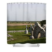 Clonmacnoise - Ireland Shower Curtain