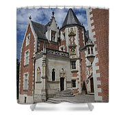 Clos Luce - Amboise - France Shower Curtain