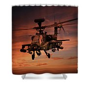 Close Air Support  Shower Curtain
