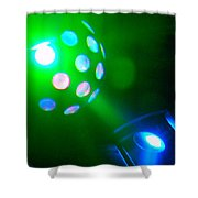 Close Contact With A Green Ufo Shower Curtain