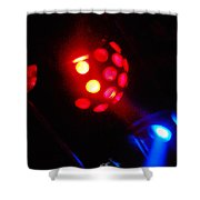 Close Contact With A Red Unidentified Flying Object Shower Curtain