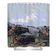 Close Quarters Shower Curtain